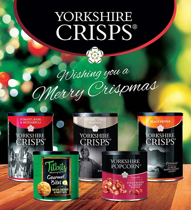 Gourmet Christmas Snacks From The Yorkshire Crisp Company